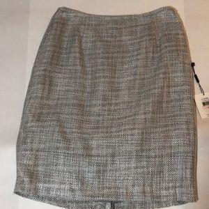 Shimmery grey skirt